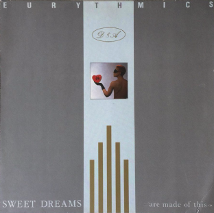 Eurythmics - Sweet Dreams (Are Made Of This) (LP) (EX/VG++)